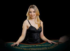 Highroller live casino's dealer