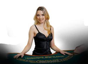 Highroller live casino's dealer